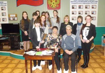 В Историко-краеведческом музее города Сердобска открыт цикл встреч с поэтами Сердобского края