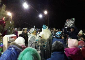 Новогодняя ёлка на катке «Кристал»